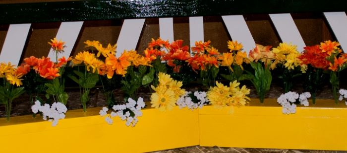 Flower Boxes for horse jumps