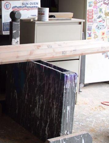 making horse jump rails
