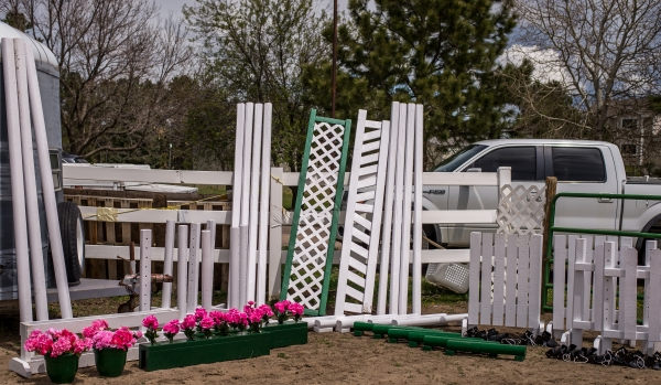 horse equipment for horse jumps