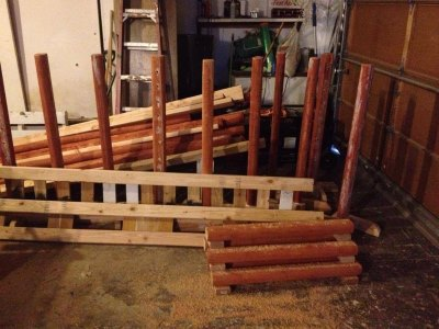 Building A Set of Horse Jumps - For Less than $300