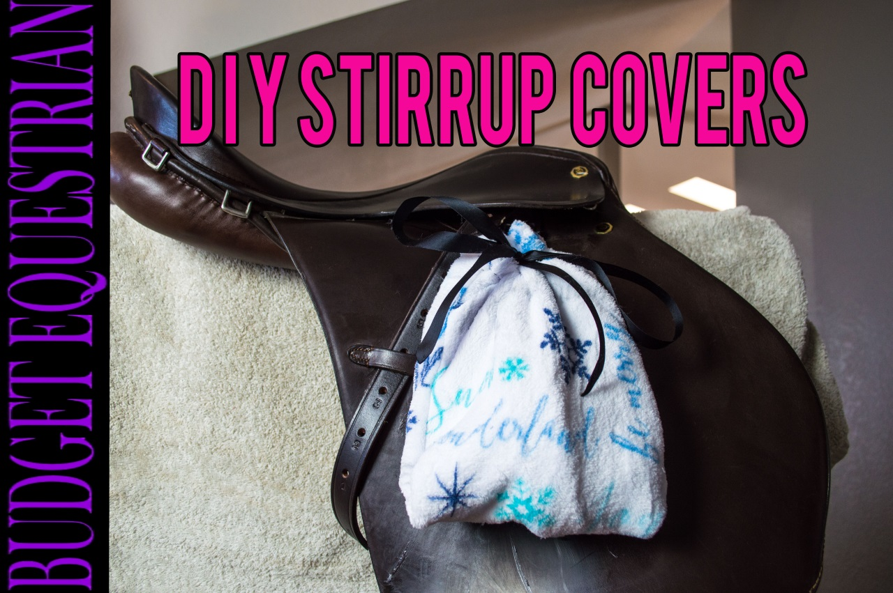 how to make stirrup covers