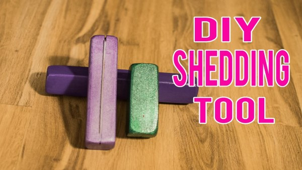 How To DIY A Shedding Tool For Your Horse