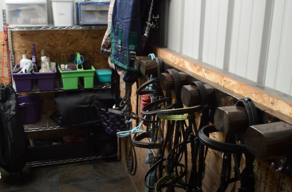 tack room makeover