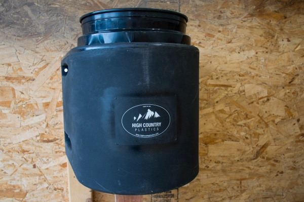 a water bucket insulator