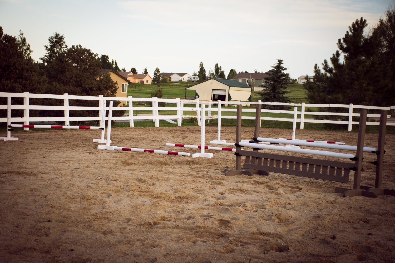 homemade horse jumps
