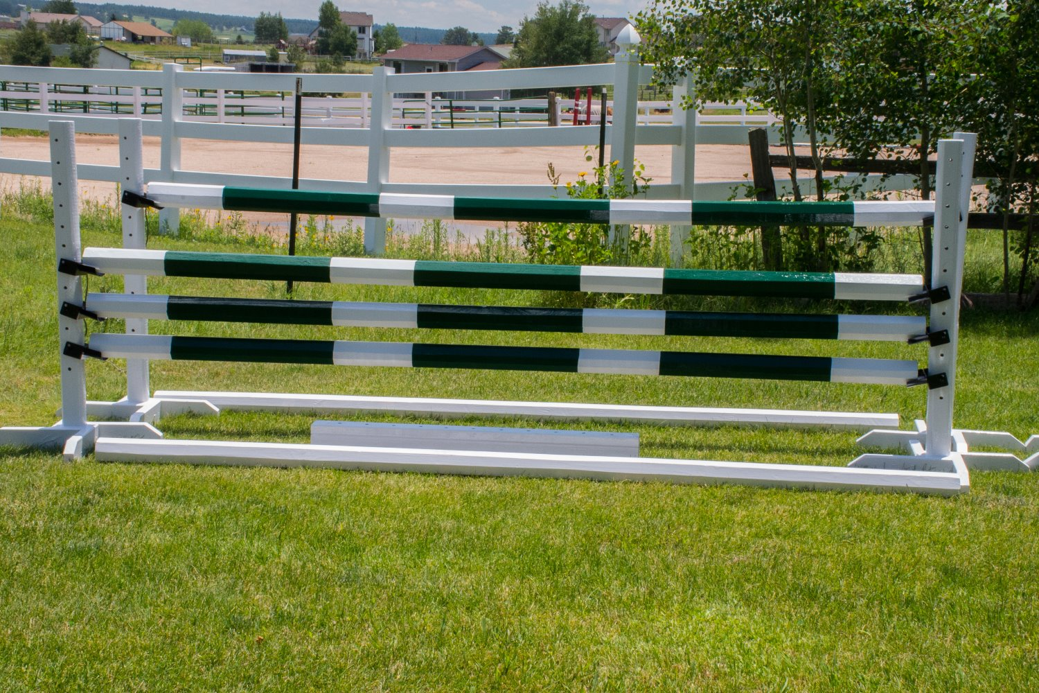 how to build horse jumps