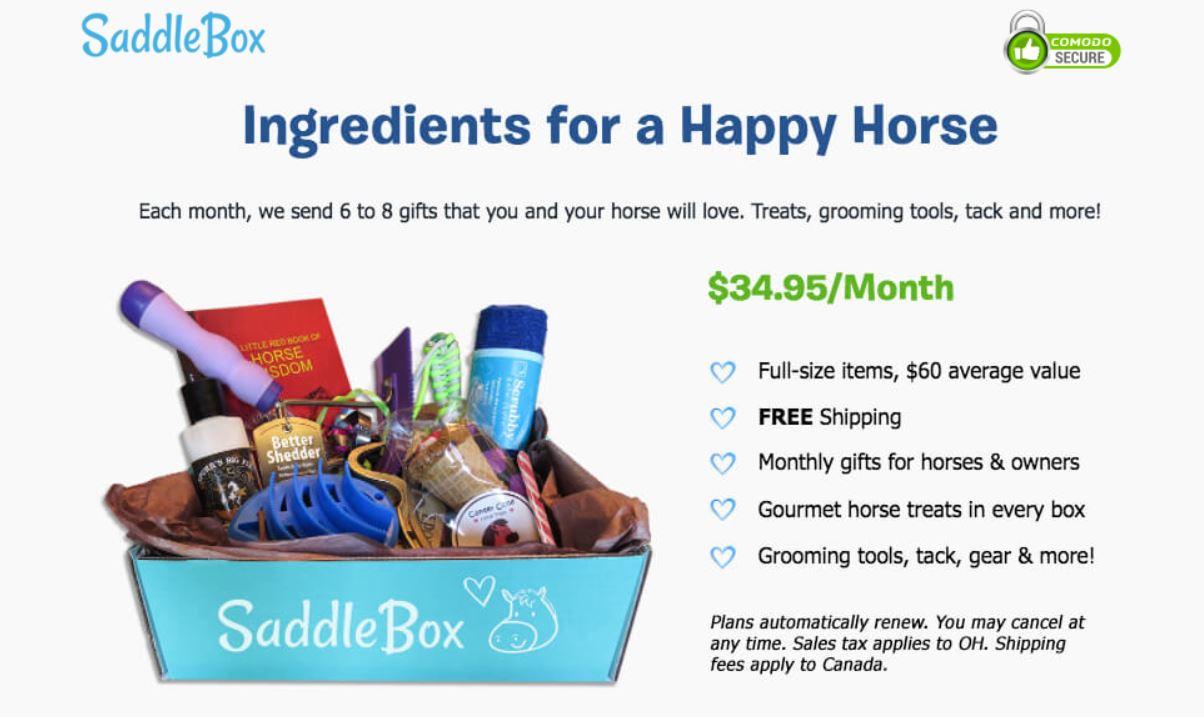 saddle box unboxing