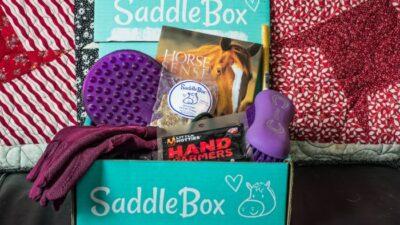 January saddle box unboxing
