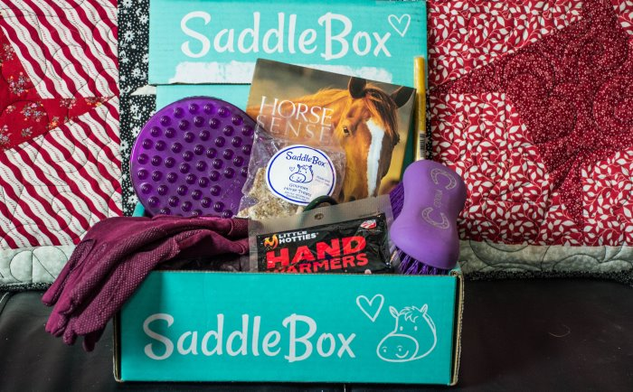 January saddle box unboxing
