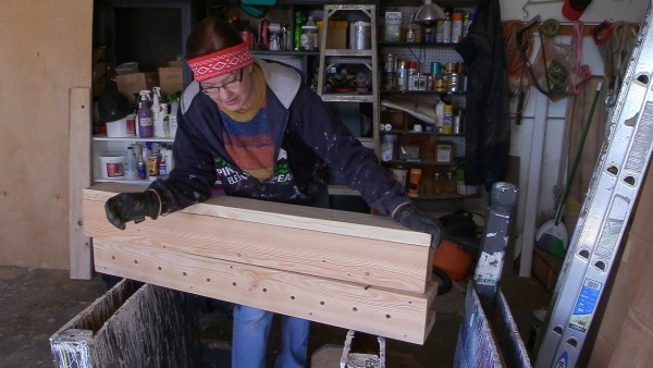 building tall flower boxes for horse jumps