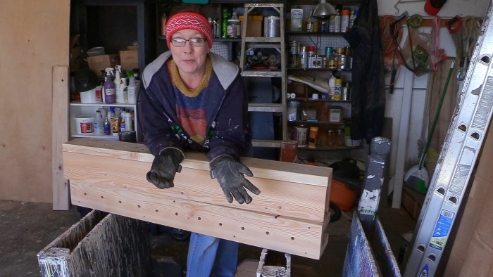 How to build tall flower boxes for horse jumps