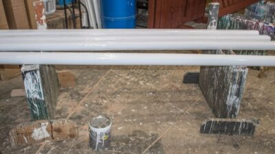 make your own horse jump rails