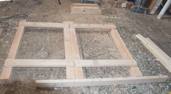 how to build wing standards for horse jumps