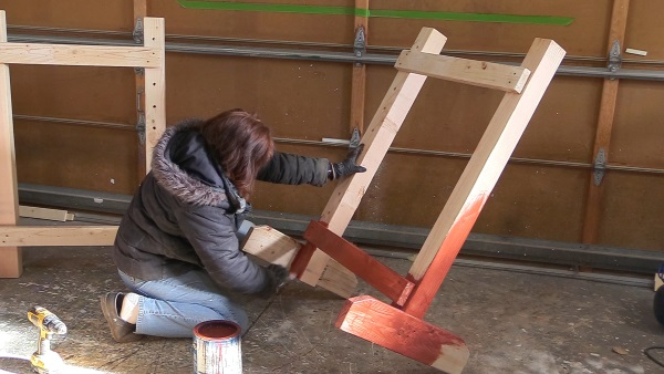 building hunter wings for horse jumps