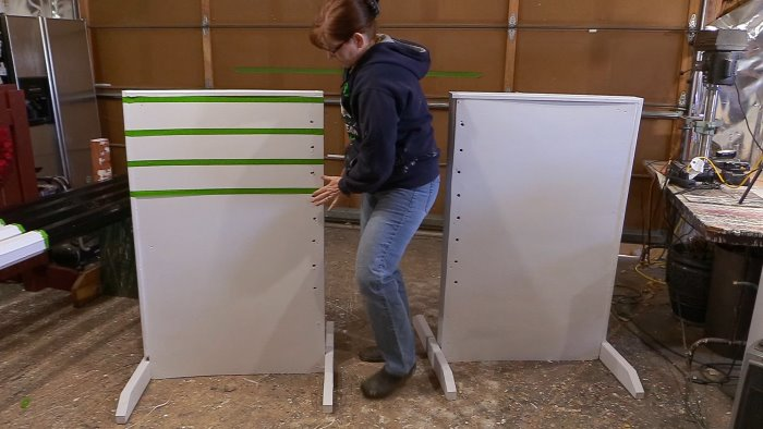 faux painting horse jump standards
