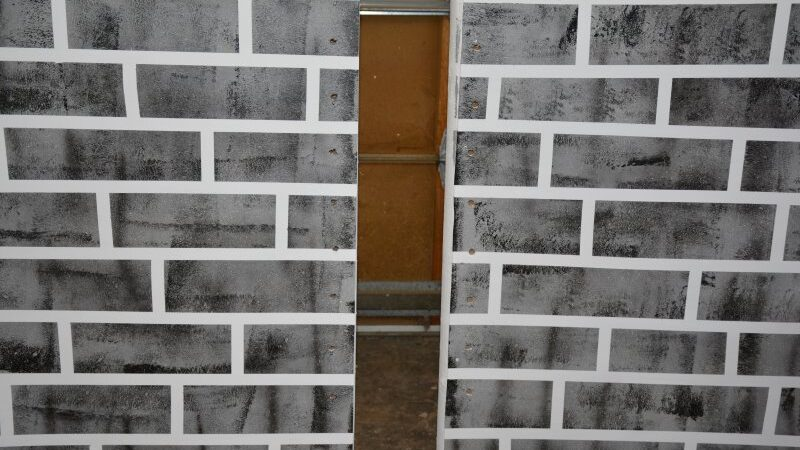faux painting brick