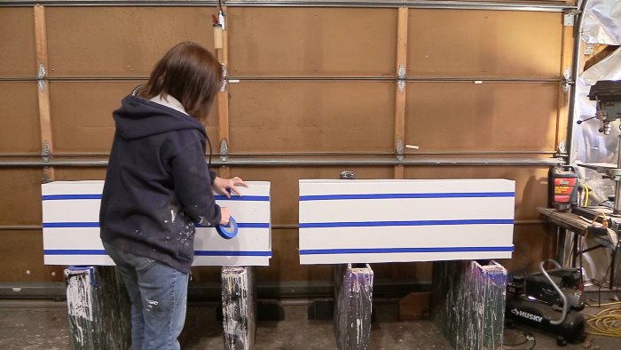 How to build horse jump filler boxes