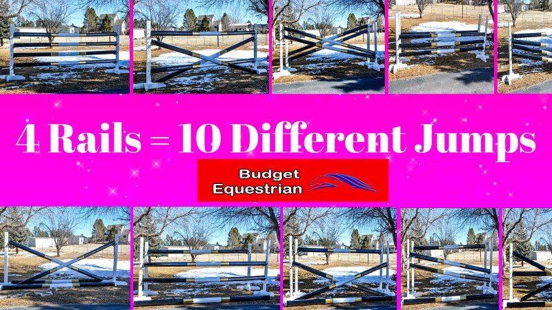 10 Different DIY Horse Jumps
