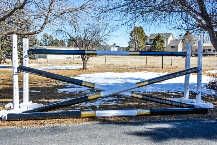 10 Different DIY Horse Jumps