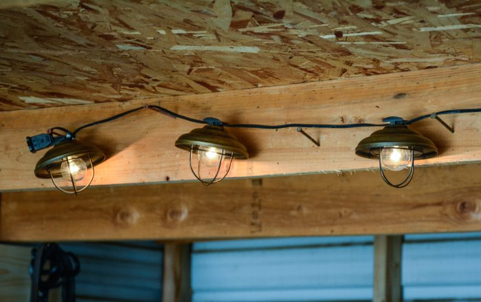 making improvements in your tack room