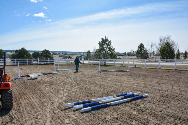 diy riding arena