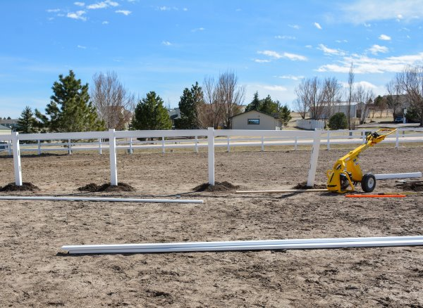 building a riding arena