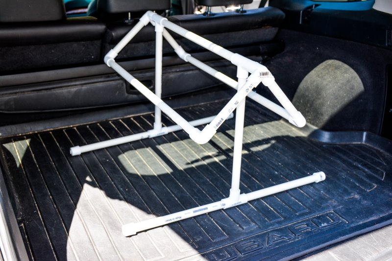 How To Diy A Pvc Saddle Stand For 10 00 Budget Equestrian