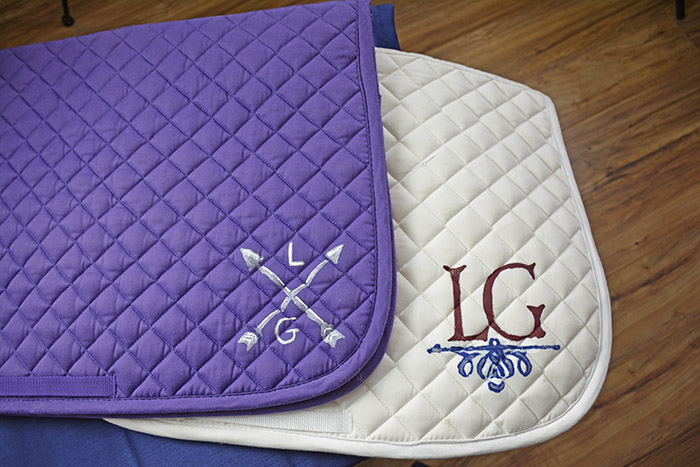 How To Personalize Your Saddle Pads