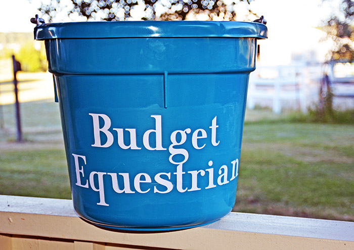 How To Personalize Horse Buckets
