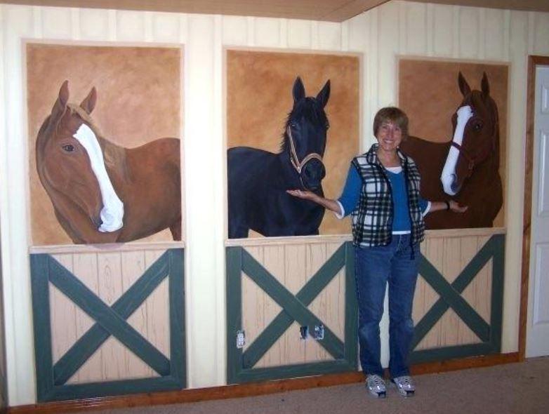 Super Easy DIY Equestrian Themed Decor