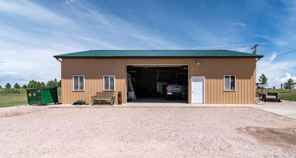 a country garage
