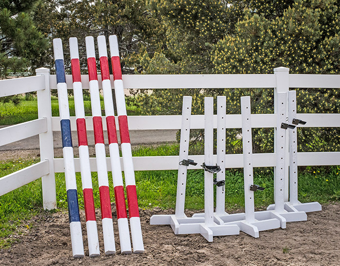 DIY Horse Jump Rails VS Retail Horse Jump Rails