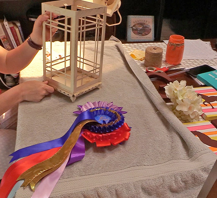 How To Display Horse Show Ribbons