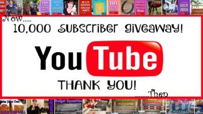 10,000 subscriber giveaway