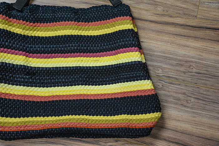 How To Make A Gear Bag From Dollar Store Rag Rugs