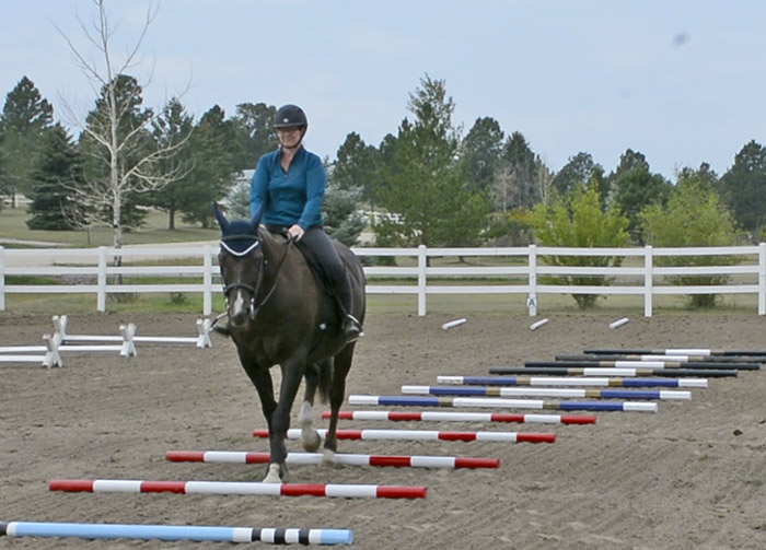 Using Ground poles In Your Arena For Confident Riding