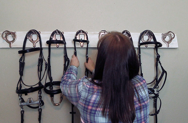 Low Cost Bridle Rack
