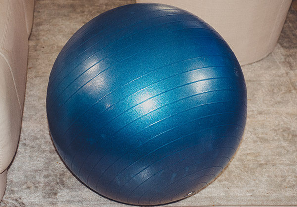 Using An Exercise Ball For Better Riding
