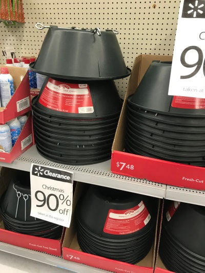 Christmas tree stands on sale