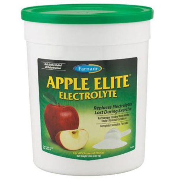 apple elite electrolytes for horses by Farnam
