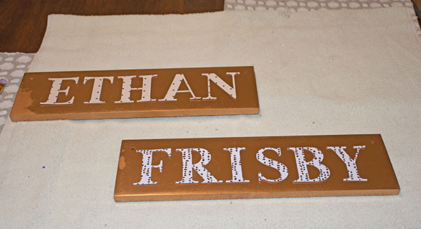 hand made stall signs for horses stalls