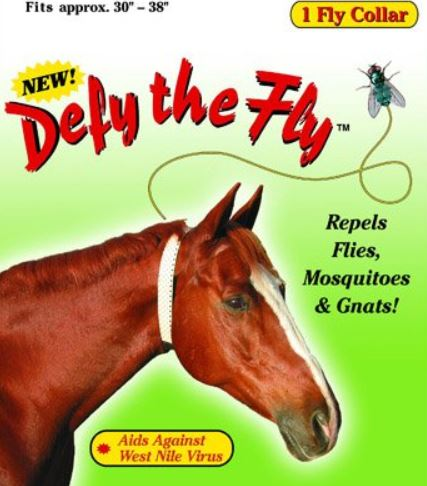fly collar for horses