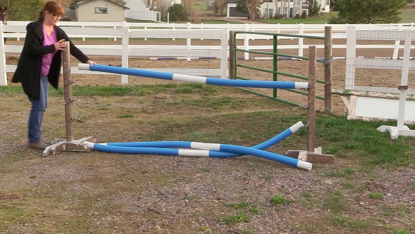 DIY Arena Obstacles Using Pool Noodles