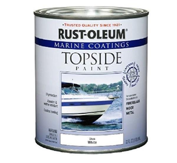 rust-oleum marine paint in white gloss