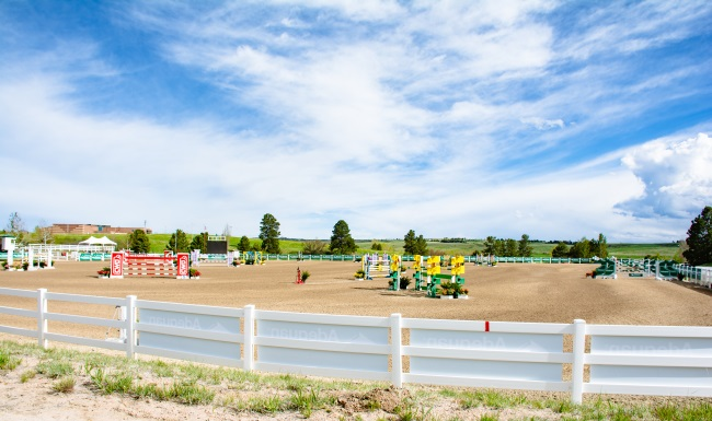 international arena at the Colorado horse park
