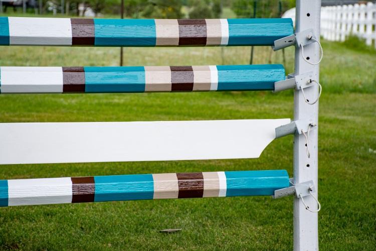 Voltaire Design Inspired horse jump rails