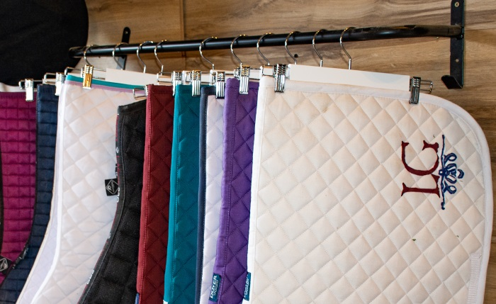 How To Store Saddle Pads Efficiently