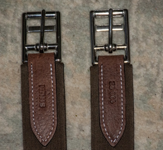 roller buckles on the Voltaire Design Hunter girth
