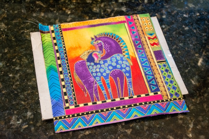 fabric horse picture