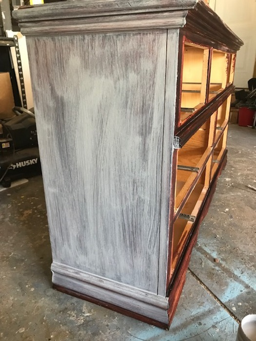 using chalk paint on furniture